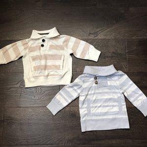 Adorable OshKosh LS Shirts - 12m